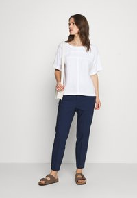 InWear - ZELLA PULL ON PANTS - Kalhoty - ink blue
