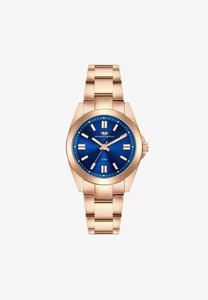 Horloge - rose gold coloured/royal blue