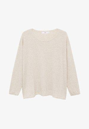 VIVA - Stickad tröja - licht/pastelgrijs