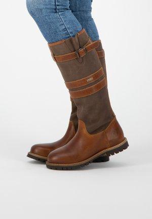 LINDAU - Boots - brown