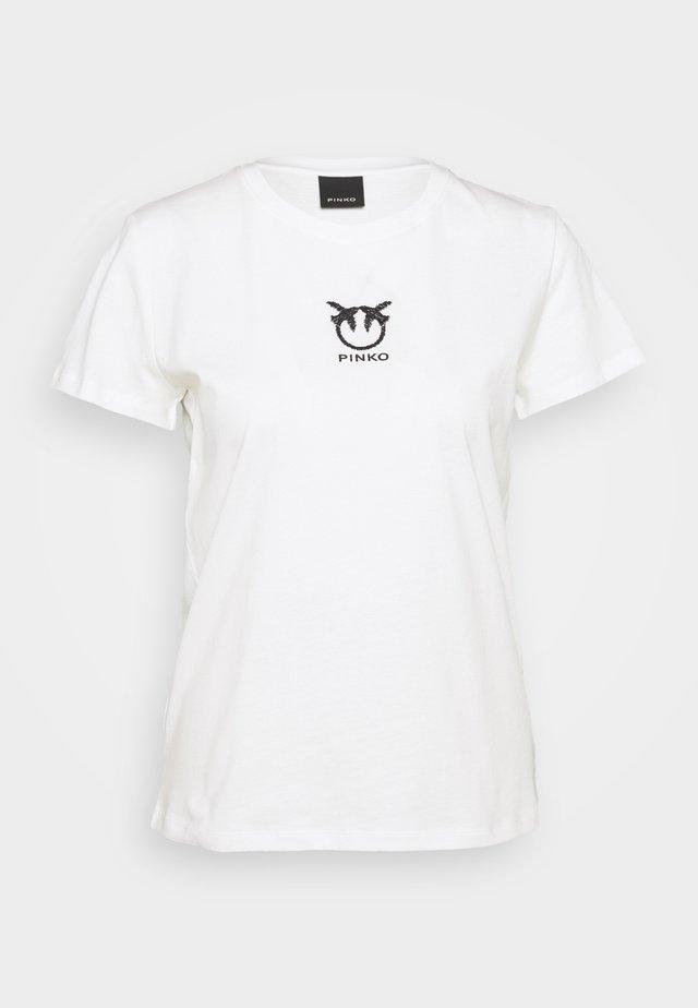 BUSSOLANO  - T-Shirt basic - white