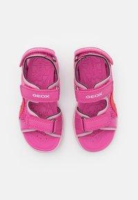 Geox - VANIETT GIRL - Chodecké sandály - fuchsia/pink - 3