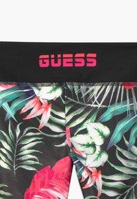 Guess - JUNIOR ACTIVE MINIME - Leggings - Trousers - green/pink - 3