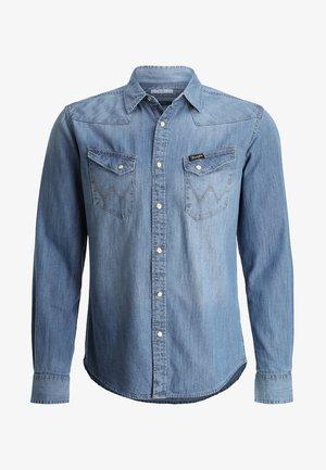 WESTERN  - Shirt - blue denim