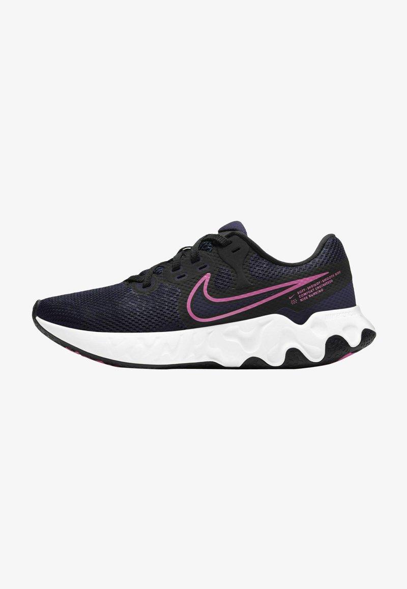 Nike Performance - RENEW RIDE 2 - Zapatillas de running neutras - blackened blue black cyber pink glow