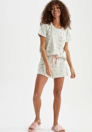 2 PIECE SET REGULAR FIT - Pyjama set - grey