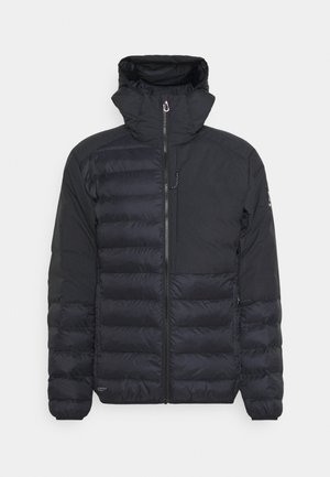 DALA MIMIC HOOD MEN - Winter jacket - true black