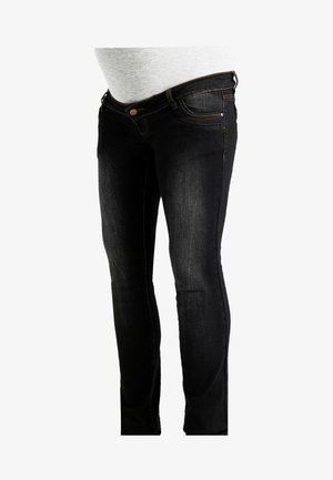 Straight leg jeans - dark blue denim