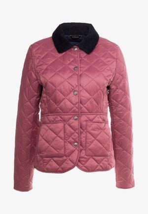 DEVERON QUILT - Light jacket - rouge/navy