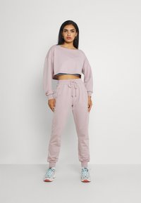 Missguided - COORD OFF THE SHOULDER SET - Tracksuit - lilac - 0