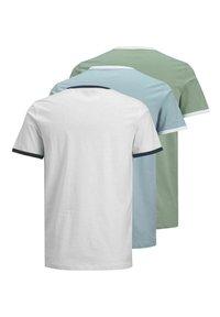 Jack & Jones - 3 PACK - Print T-shirt - white - 7