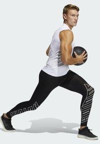 adidas Performance - SL TECHFIT AEROREADY PRIMEGREEN SPORTS SLEEVELESS T-SHIRT - Top - white - 1
