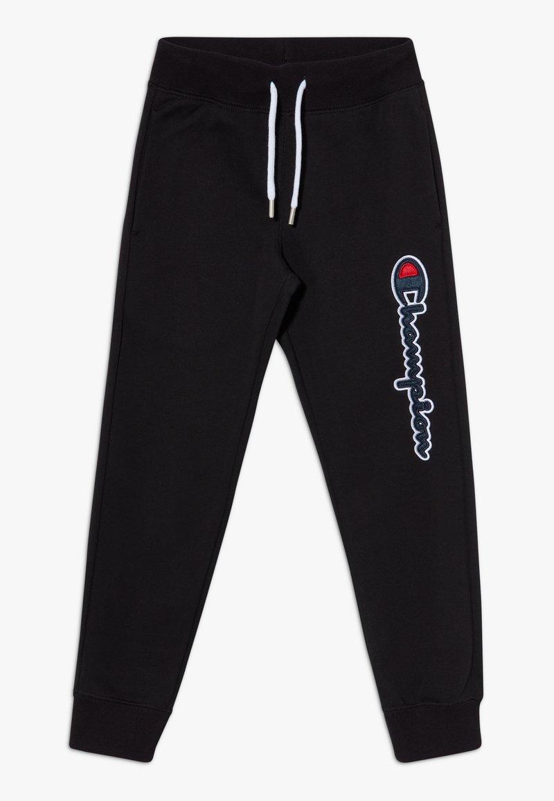 Champion - LOGO RIB CUFF  - Spodnie treningowe - black