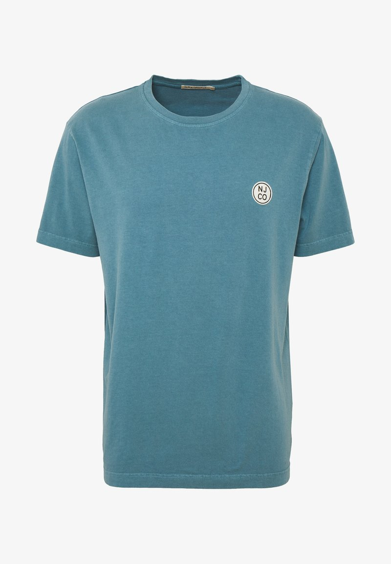 Nudie Jeans - UNO - T-shirt basic - petrol blue