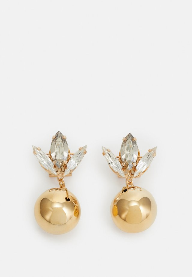 OMEGA TULIP MOTIF BALL - Pendientes - gold-coloured