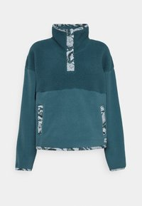 The North Face - LIBERTY SIERRA SHERPA - Fleecepullover - mallard blue - 4