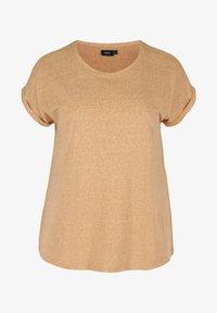 Zizzi - Basic T-shirt - orange - 3