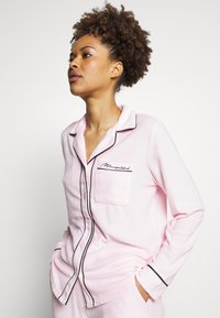 Missguided - TOWEL SHIRT LONG - Pyjamas - pink - 3