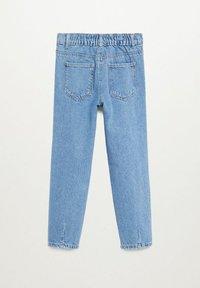 Mango - SLOUCHY - Jeans Straight Leg - middenblauw - 1