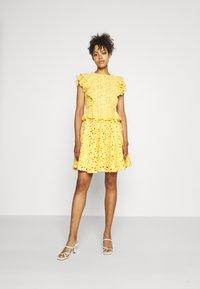 Lace & Beads - RORI DRESS - Day dress - yellow - 0