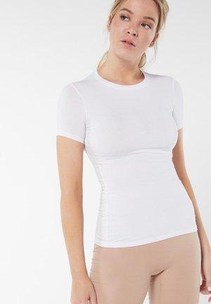 MIT STRETCHANTEIL - Undershirt - bianco