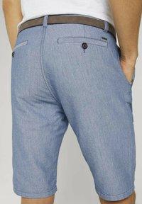 TOM TAILOR - Shorts - light blue minimal indigo - 4