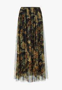 MARGITTES - Pleated skirt - schwarz/multicolor - 5