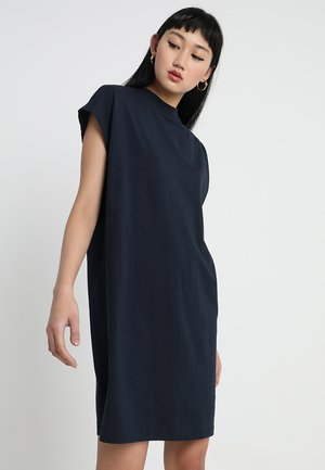 PRIME DRESS - Žerzejové šaty - dark blue