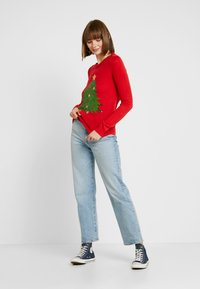 Vero Moda - VMSHINY CHRISTMAS TREE - Jumper - chinese red - 1