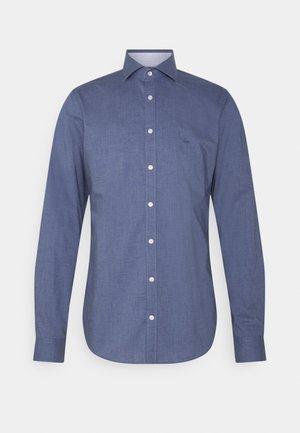 MELANGE SLIM FIT SHIRT - Formal shirt - blue