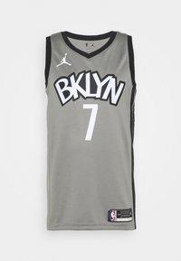 Nike Performance - NBA BROOKLYN NETS SWINGMAN JERSEY - Article de supporter - dark steel grey/black - 4