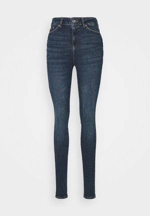 VMSEVEN - Slim fit jeans - dark blue denim