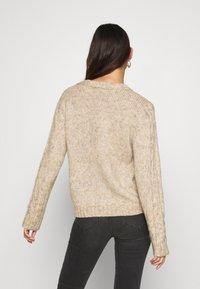 YAS - YASTIRA - Svetr - tawny brown - 2