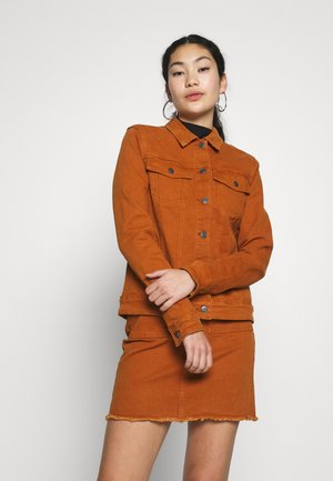OBJCHRISA JACKET - Denim jacket - sugar almond