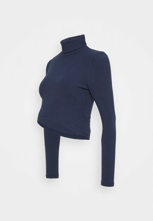 LADIES  - Long sleeved top - navy