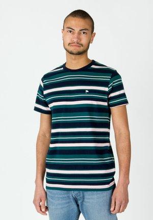 WARREN  - Print T-shirt - blau