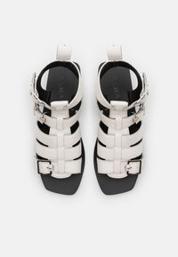 ASRA - STELLA - Varrelliset sandaalit - white - 4