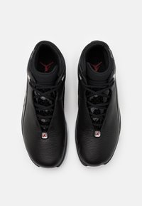 Jordan - JUMPMAN TEAM FLOW - High-top trainers - black/gym red/white/metallic silver - 3