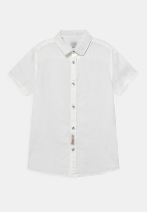 SOLID COLOR - Shirt - bright white
