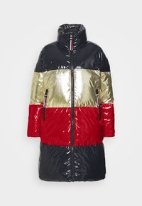Tommy Hilfiger - COLORBLOCK MAXI - Down coat - desert sky/gold/arizona red - 5