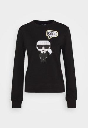 PIXEL - Sweatshirt - black