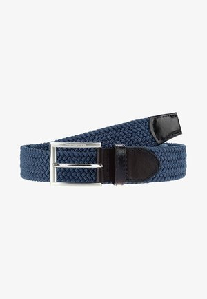 DIGNANO - Flätat skärp - blue