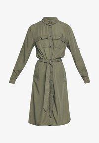 EMMASZ DRESS - Shirt dress - army green