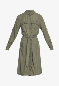 EMMASZ DRESS - Vestido camisero - army green