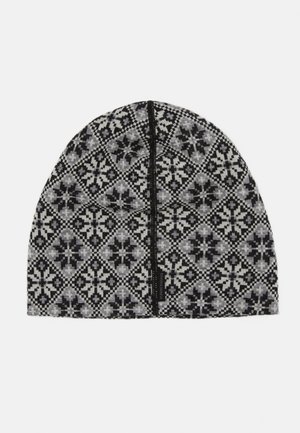 ROSE BEANIE - Bonnet - black