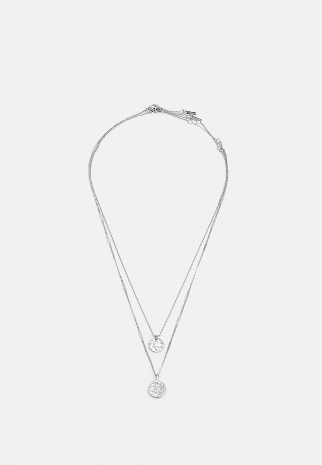 NECKLACE HAVEN 2 PACK - Halsband - silver-coloured