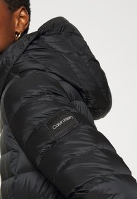Calvin Klein - COATED ZIP LIGHT JACKET - Down jacket - black - 5