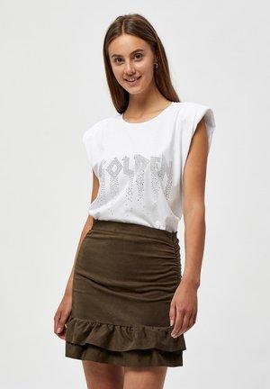 GOSIA - T-shirt con stampa - white