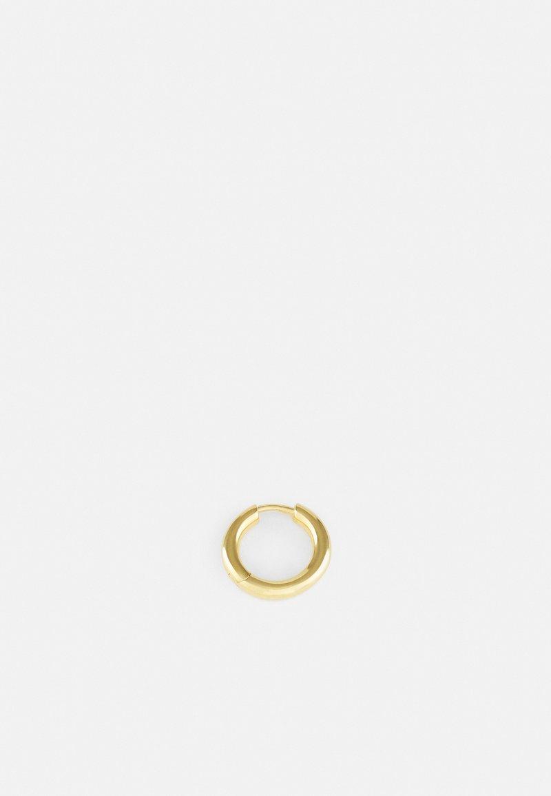 Maria Black - POLO HUGGIE SINGLE - Ohrringe - gold-coloured