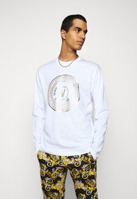 Versace Jeans Couture - LOGO - Long sleeved top - white/gold - 0